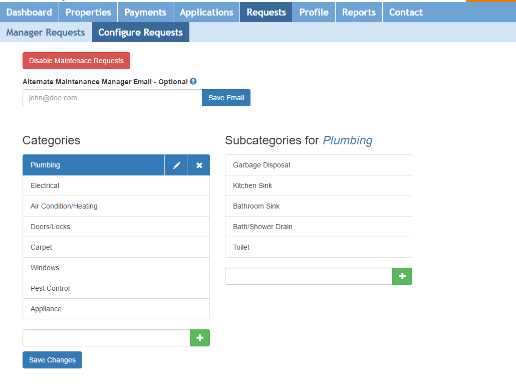 Maintenance Request Tracking for Landlords and Property Managers
